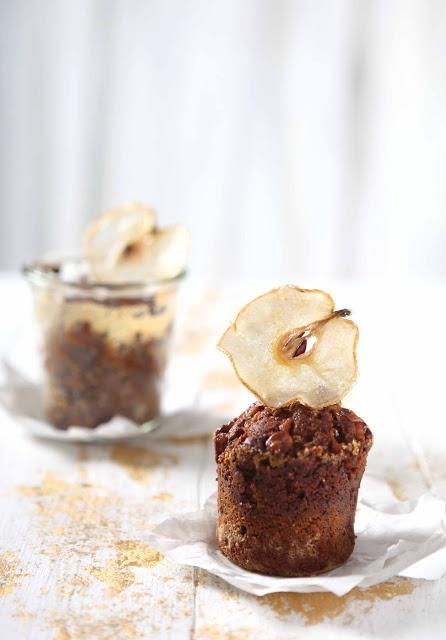 Walnut Nashi Caramel Pears Cake