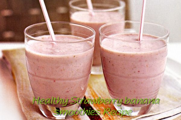 #Healthy Strawberry banana #smoothies #Recipe  1 x 250g punnet strawberries, hulled, washed 2 overripe bananas, coarsely chopped 750ml (3 cups) milk 260g (1 cup) vanilla-flavoured yoghurt  More Smoothie Recipe:http://www.healthysmoothierecipe.net/healthy-strawberry-banana-smoothies-recipe/