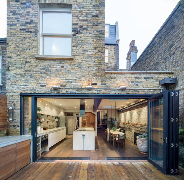 Glass extension. Outdoors indoors..and vice versa