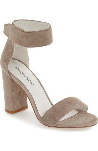 Jeffrey Campbell 'Lindsay' Ankle Strap Sandal (Women) available at #Nordstrom
