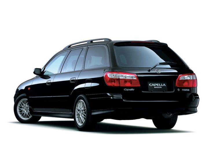 Mazda Capella V-RX Sport Wagon (GW) '2001–02