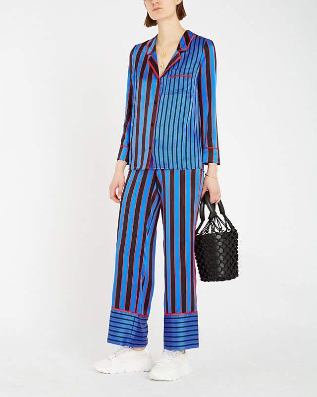 Silk Mix Pyjama Trousers