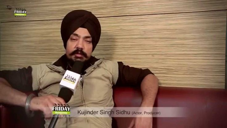 Kuljinder Singh Sidhu gives best wishes to Friday Hungama Company