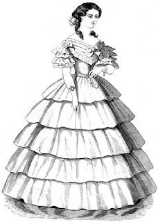 63 Best 1860 S Ball Gowns Images On Pinterest Historical