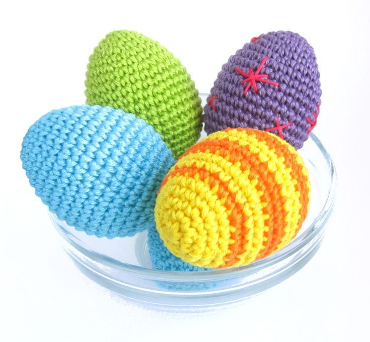Crochet Easter Egg - FREE Pattern / Tutorial