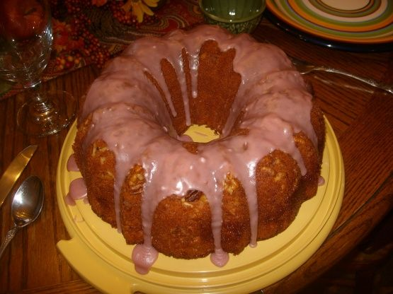 I made this recipe a couple of months ago, and my whole family just devoured it.  My mom said it was the best cake she had ever eaten.  Its a little different than the other recipes for Blackberry Wine Cake that are posted here.  I had misplaced the recipe after making it and hunted all over the net trying to find it again, with no luck.  I finally found my copy today and Im posting it so I never lose it again!  The prep time includes the time to let the cake sit in the pan absorbing the…