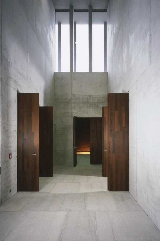 Interior of the Museum of Modern Literature in Marbch am Neckar by David Chipperfield Architects. #architecture #museums #modern