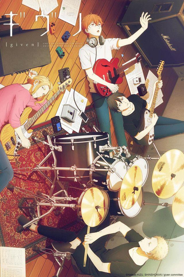 Given Ver En Crunchyroll En 2020 Fondo De Pantalla De Anime Anime Gratis Fondo De Anime