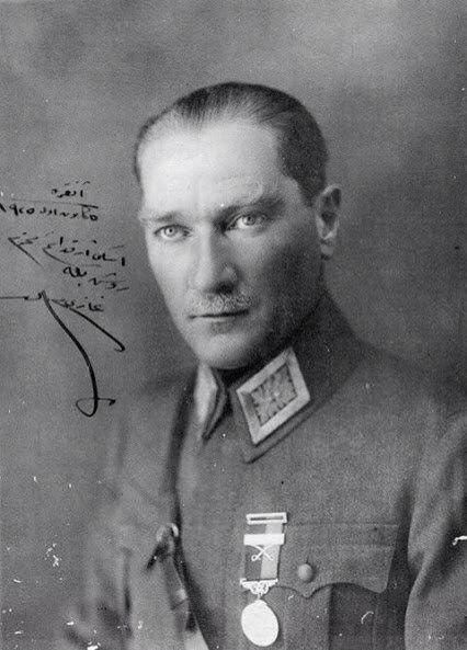 Father of the Turks Mustafa Kemal Atatürk
