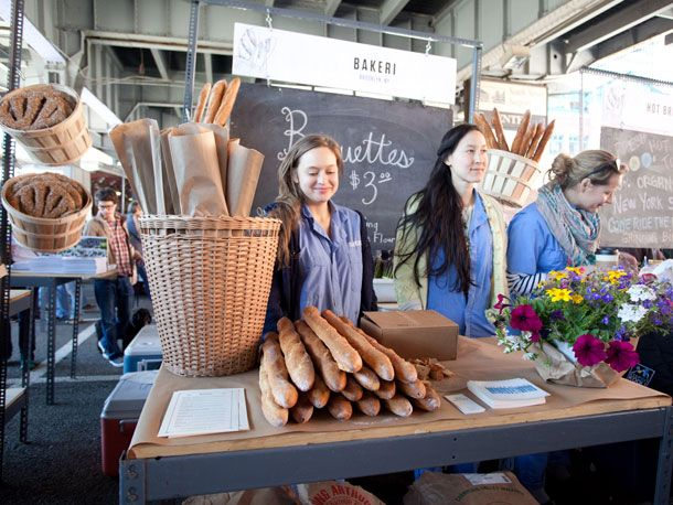 The wonderful New Amsterdam market is back!  New Yorkers have missed you.