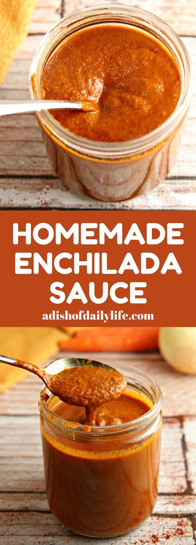 Ditch the canned sauce! This Homemade Enchilada Sauce recipe is very easy to make and tastes a lot better than canned!