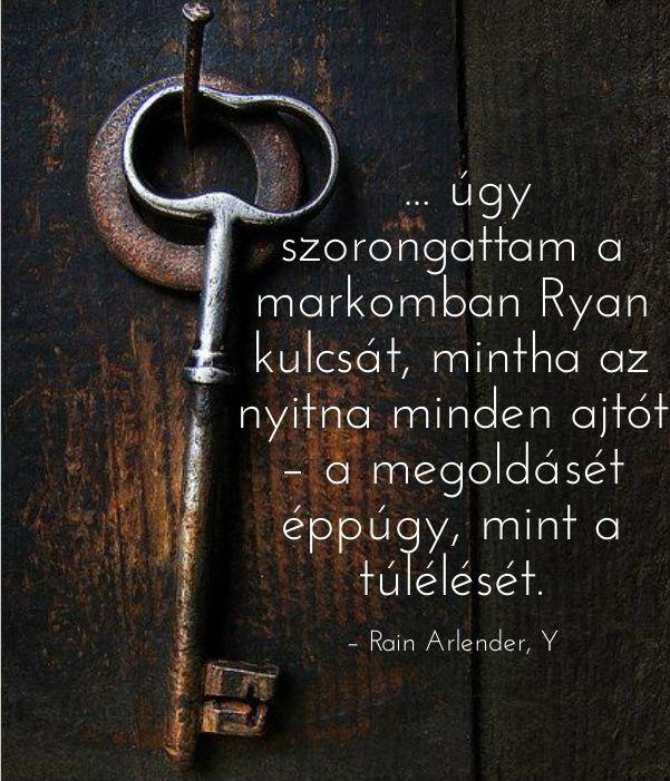 Kulcs megoldás túlélés ekönyv szöveg Y Rain Arlender http://syllabux.hu/books/y?id=164