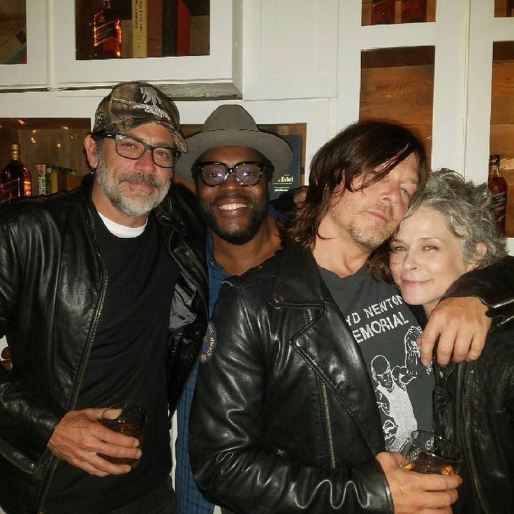 Jeffrey Dean Morgan Chad Coleman Norman Reedus And