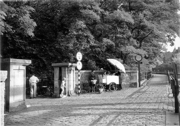 Ingang stadspark.