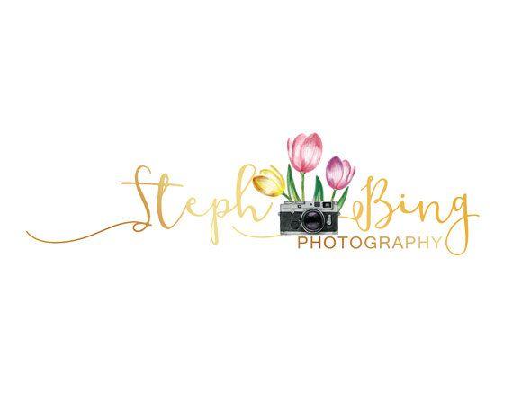 Gold Branding Kit Floral Branding Kit  by LoveArtsStudio on Etsy