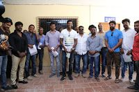 Latest Images of Actor Vishal's Team Filed Their Nominations For Producer Council Elections Photos Hot Gallerywww.vijay2016.com