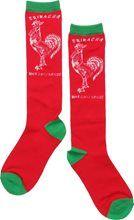 Show details for Sriracha Hot Chili Red Knee High Socks