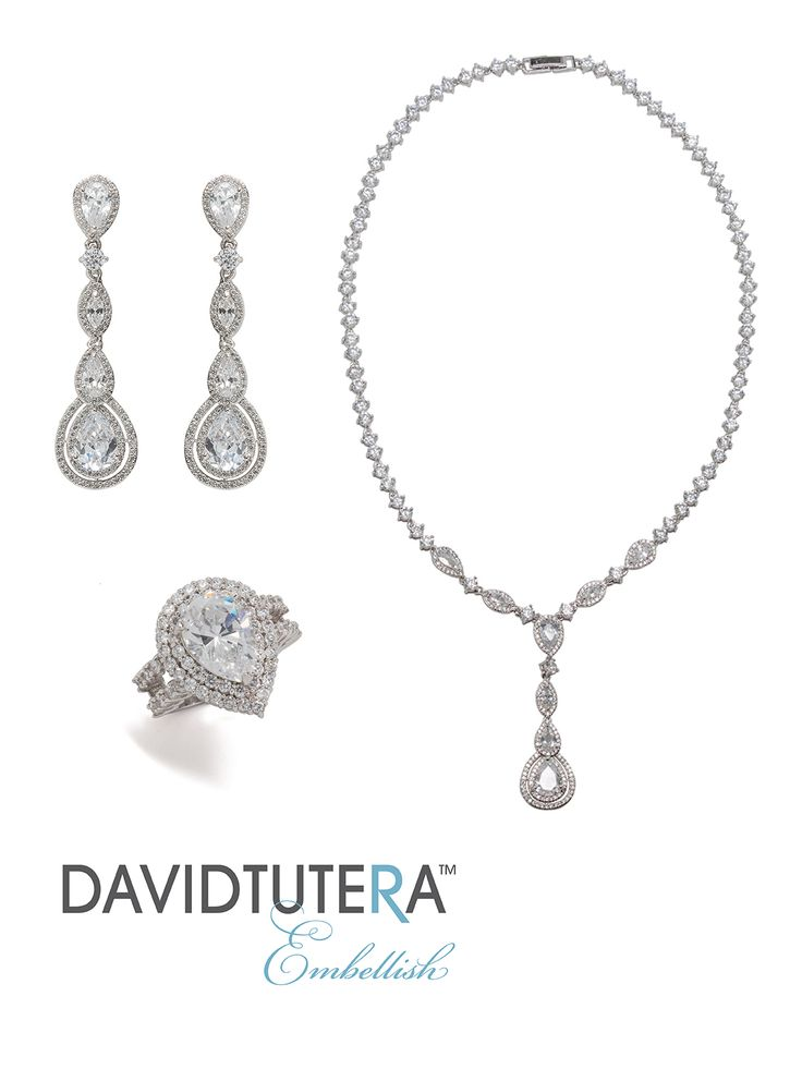 19 best embellish by david tutera images on pinterest for David tutera wedding jewelry collection