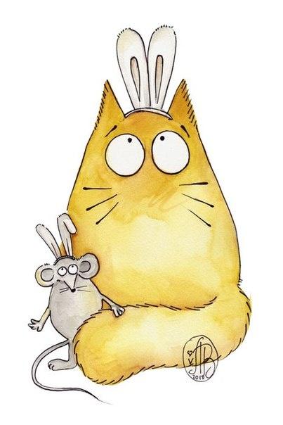 cats illustrated... Maria van Bruggen