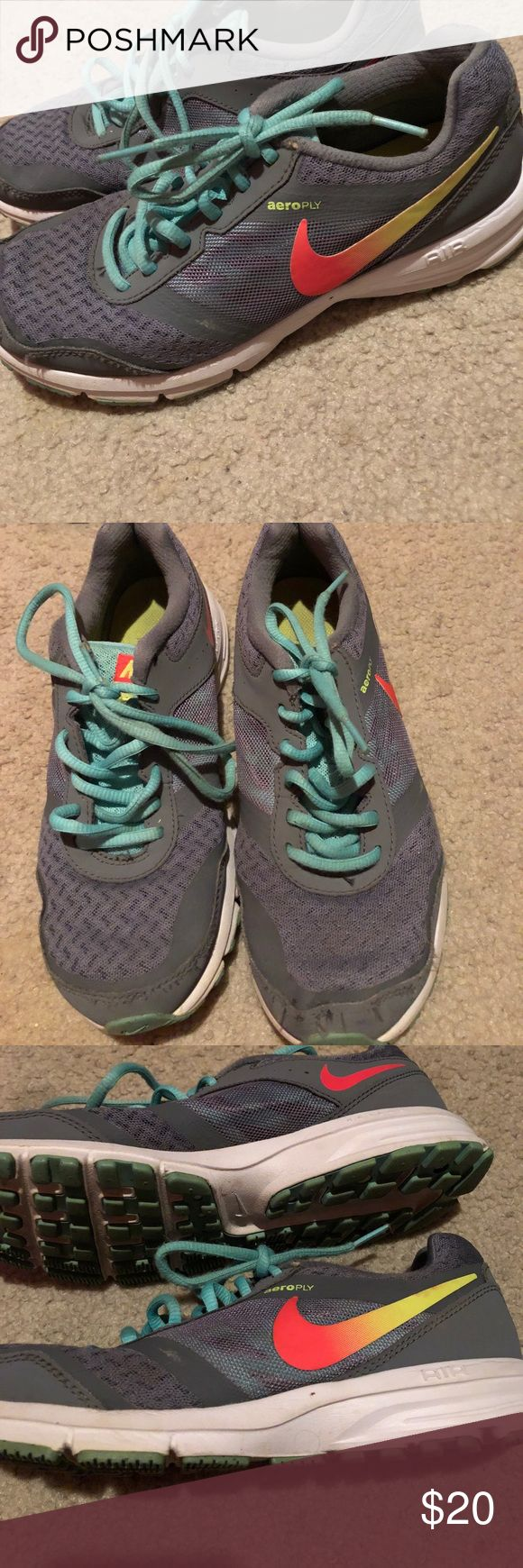Women's Nike Running Shoe Size 7 Air Relentless 4 Nike Shoe Size 7 Women's. Very good used condition Nike Shoes Athletic Shoes
