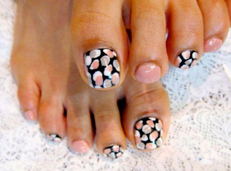 Disegni nail art pedicure 2013