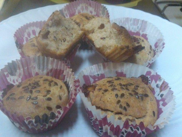 Muffins salati ai semi di lino | Vegan blog - Ricette Vegan - Vegane - Cruelty Free