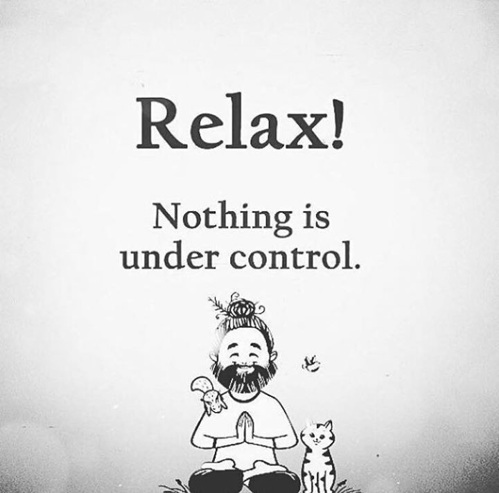 Positive Quotes :    QUOTATION – Image :    Quotes Of the day  – Description  Relax!!  Sharing is Power  – Don't forget to share this quote !    https://hallofquotes.com/2018/04/06/positive-quotes-relax-3/