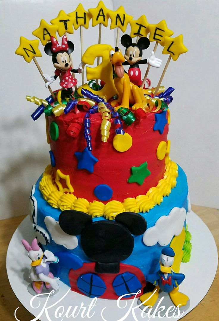 Mickey Mouse Clubhouse Cake   Mickey mouse clubhouse cake ...