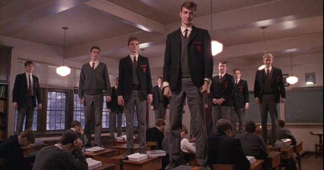 This is one of my favorite scenes from one of my favorite movies, Dead Poets Society.