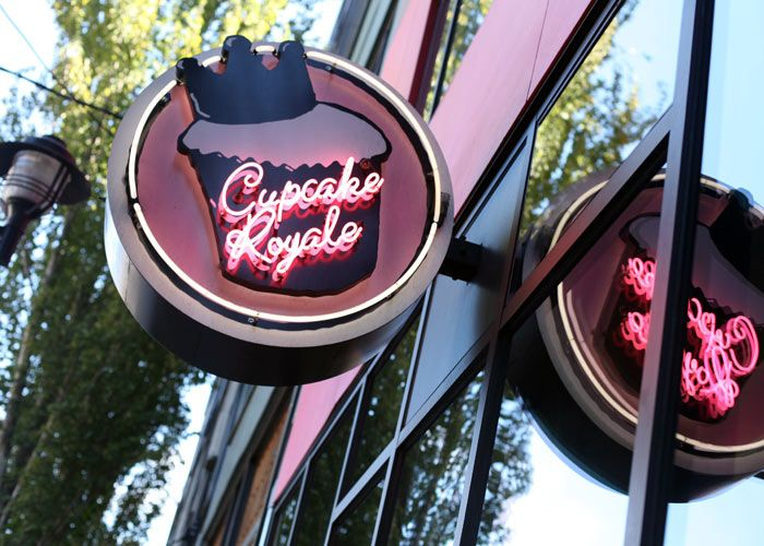 Cupcake Royale, Seattle, Washington.