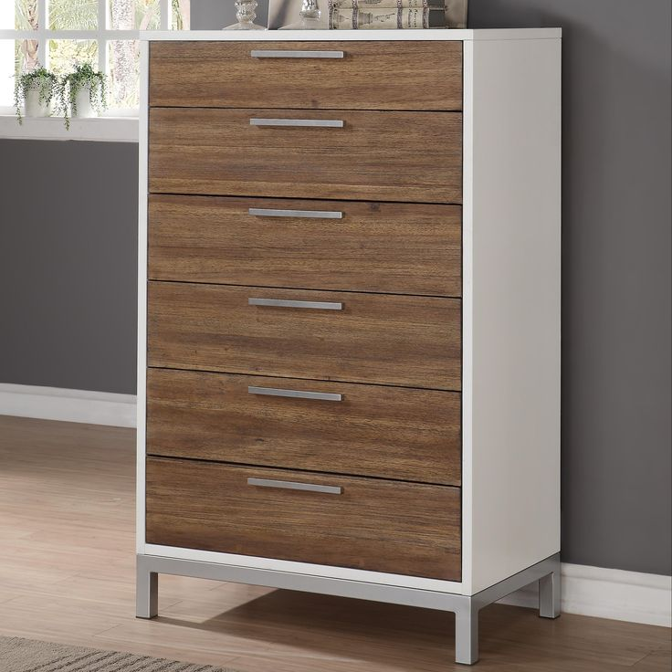 Oslo 6 Drawer Chest With Felt Lined Top Drawer By Wynwood, A Flexsteel  Company At Conlinu0027s Furniture