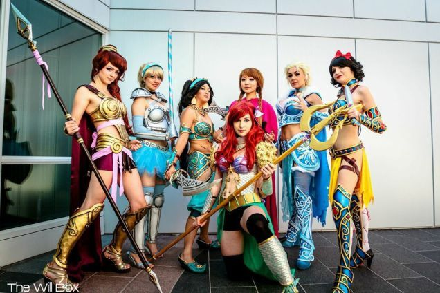 Disney Princesses In Battle Armor: This Weekend's Best Cosplay
