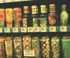 arizona iced tea ♥