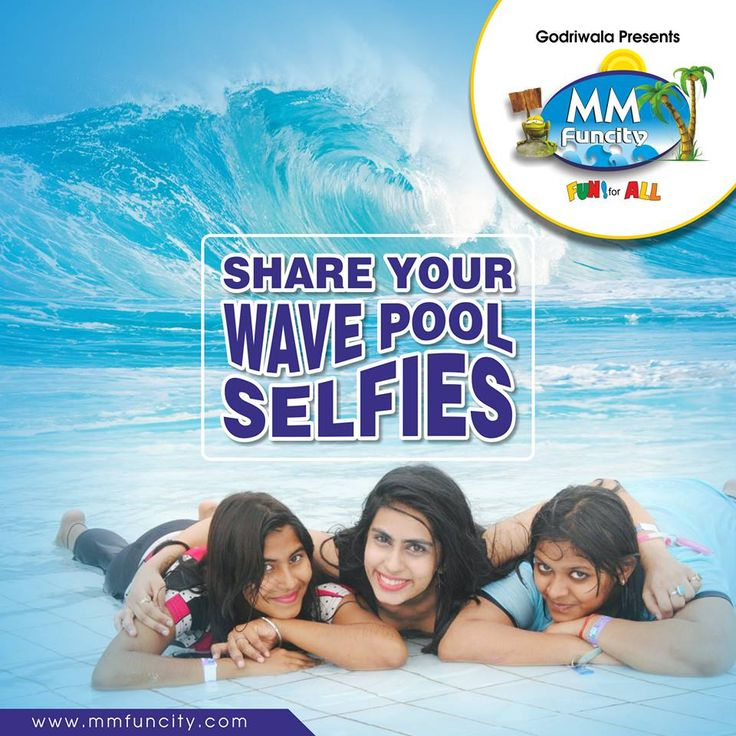 Experience the giant waves! Share your #WavePool selfies with us. For More: https://goo.gl/Su9dWZ #MMFunCity #WaterPark #FunRides #WaterSlides #LazyRiver