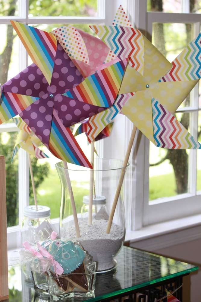 Pinwheel Pretties | CatchMyParty.com