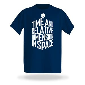 ThinkGeek :: TARDIS-Shaped Expansion Shirt