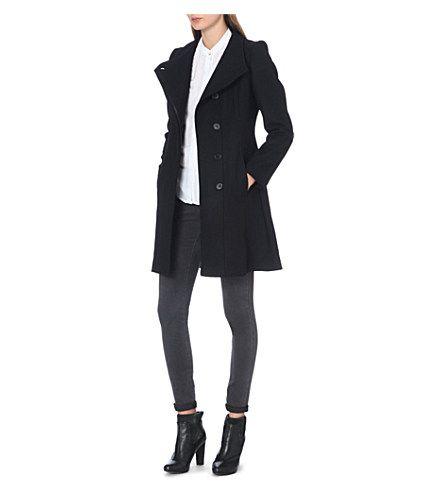 REISS Loire wool-blend slim coat