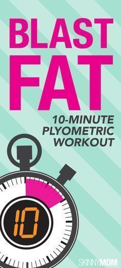 BLAST FAT with this 10 minute ply workout!