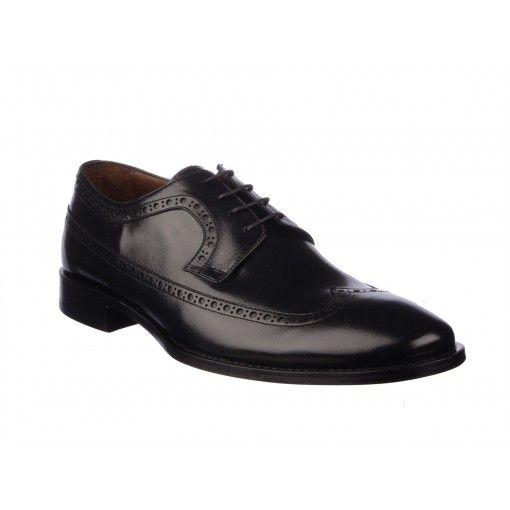 Pantofi Le Colonel negri, din piele naturala