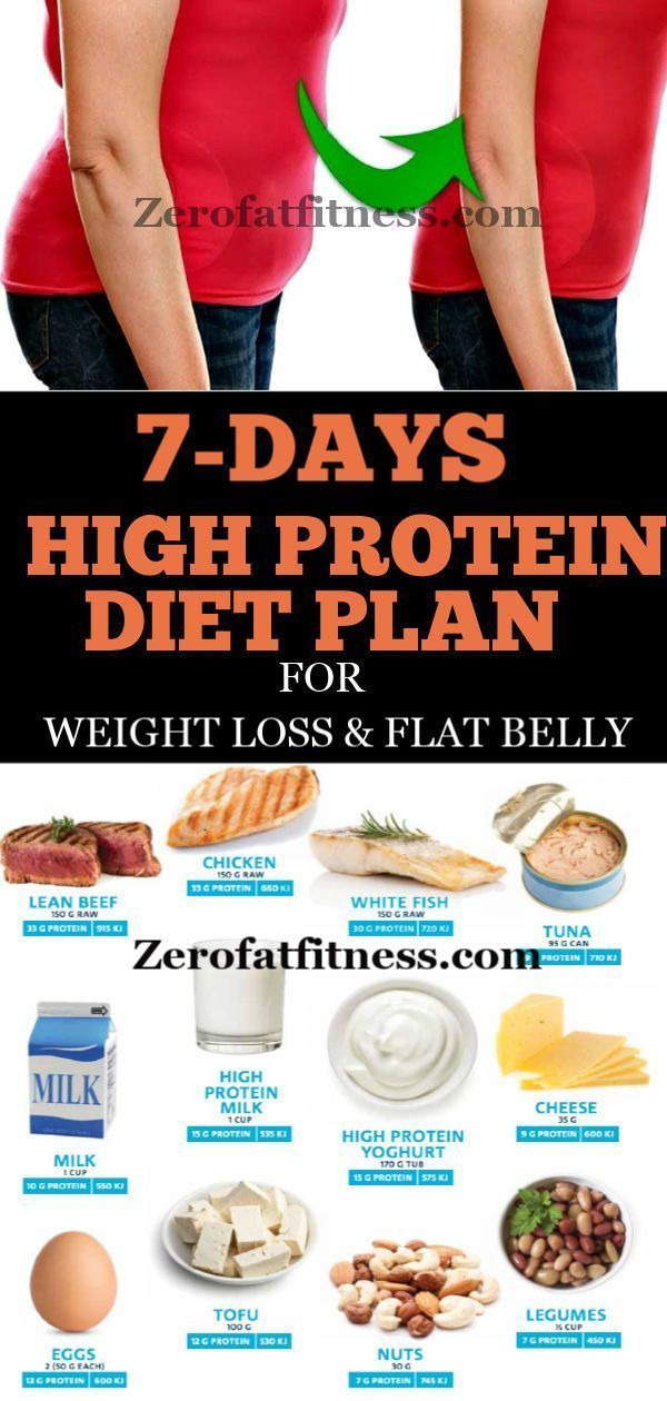 7 day protein diet plan