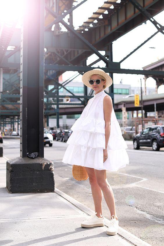 Anständiges Aussehen die White Street Styling Ideen für Alle Frauen
