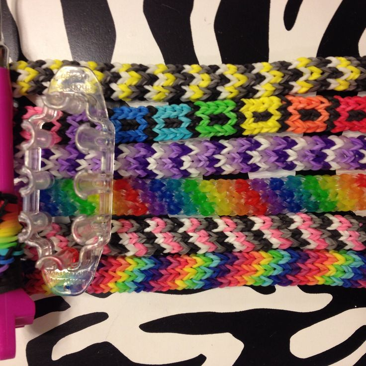 Rainbow Loom Knitting Patterns : 17 Best images about Sea Wolfe Rainbow Loom on Pinterest Chain bracelets, H...