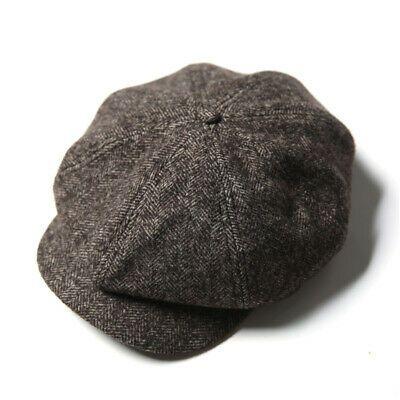 (Sponsored)eBay – NON STOCK Wool Blend Newsboy Hat Vintage Peaky Blinders Baker …