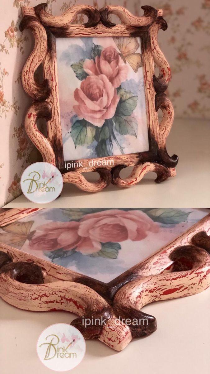 إطار ريفي عتيق Decorative Boxes Decor Decorative Tray