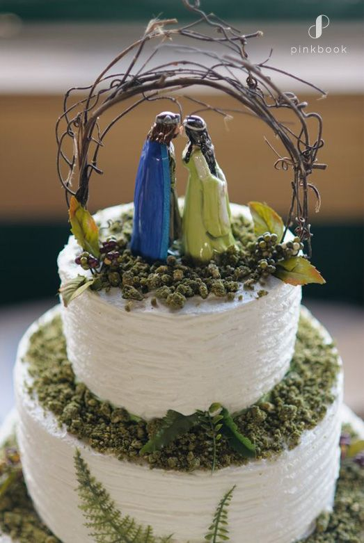 34 Unique Wedding Cake Toppers