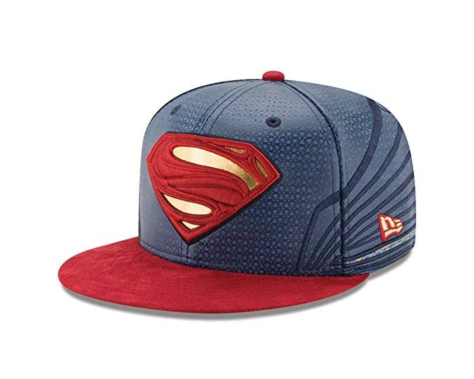 2d5da53abf372 Superman Justice League Armor 59Fifty Fitted Hat Review ...