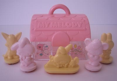 My Melody stamp set by ✎☁Iron Lace☁✎, via Flickr