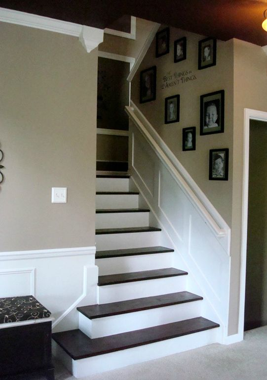 IHeart Organizing: STAIR DECORATING IDEAS