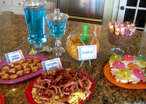 Pool Party Snack Ideas cheers to summer surfer style kids pool party ideas Pool Party Theme Great Snack Ideas