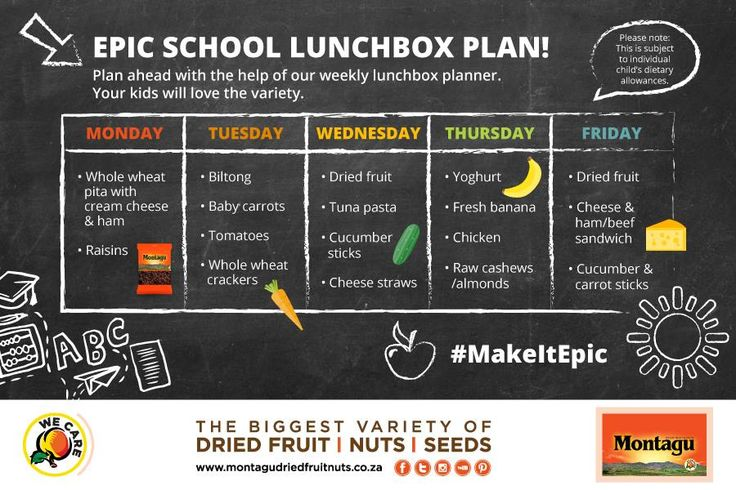We think all you moms out there are superheroes! But even superheroes need a little help when they run out of lunchbox ideas for their superheroes-in-training... ;)  Here's a week's worth of yummy, healthy lunchbox ideas to make your kids' school day EPIC! Save it to your phone or print it out to stick on the fridge at home. :)  #MakeItEpic | #WeCare | #Back2School